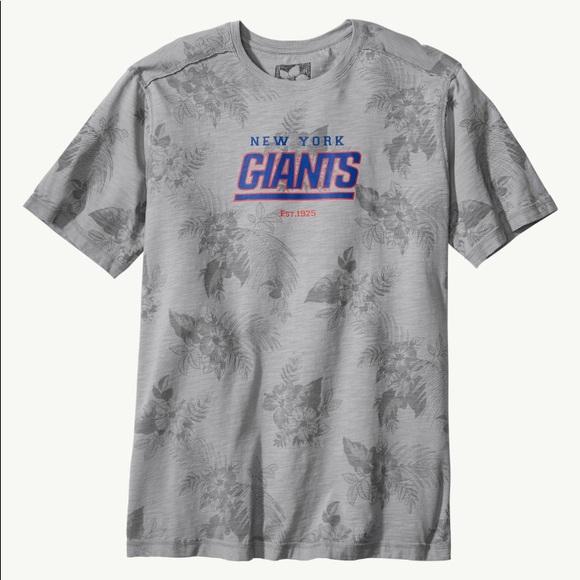 NWT Tommy Bahama NFL Floral Blitz Tee NY Giants 1b51da188